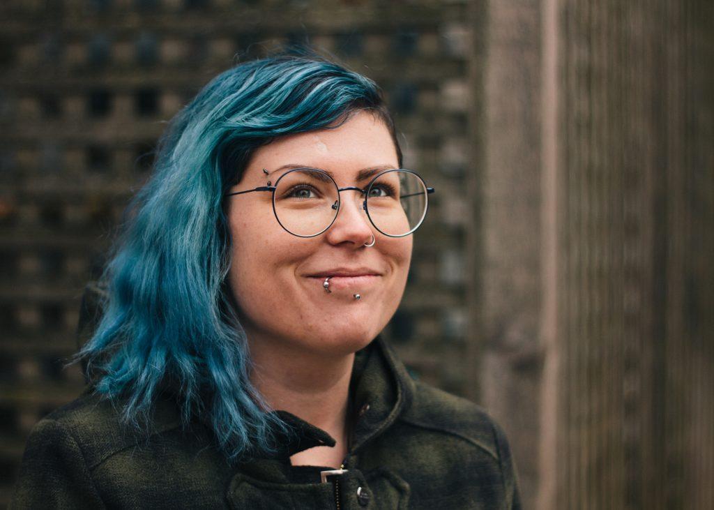Cassie Noble | Musician - smiling