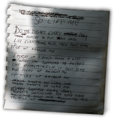 Cassie Noble - So Like Me lyrics